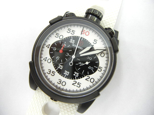 10311 中古良品 CTスクーデリア CT Scuderia DIRT TRACK CS10116 44M クロノグラフ 腕時計 クォーツ