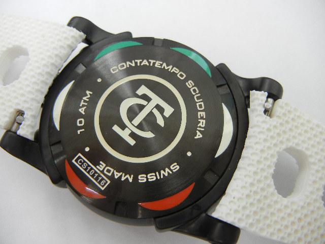 10311 中古良品 CTスクーデリア CT Scuderia DIRT TRACK CS10116 44M クロノグラフ 腕時計 クォーツ_画像5