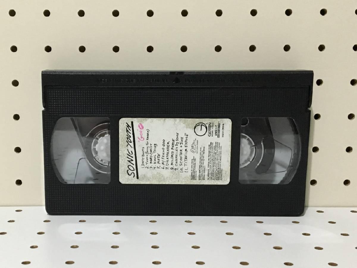 [中古 希少 90s USA製]SONIC YOUTH GOO (DGC/GEFFEN) VHS ソニックユース ビデオ raymondpettibone_画像6