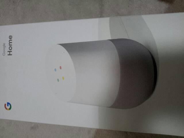 グーグルホーム Google HOME 話題のAIスピーカー ◆新品未開封品◆天気予報、ニュース、スポーツの結果などの情報を、声を使ってググる