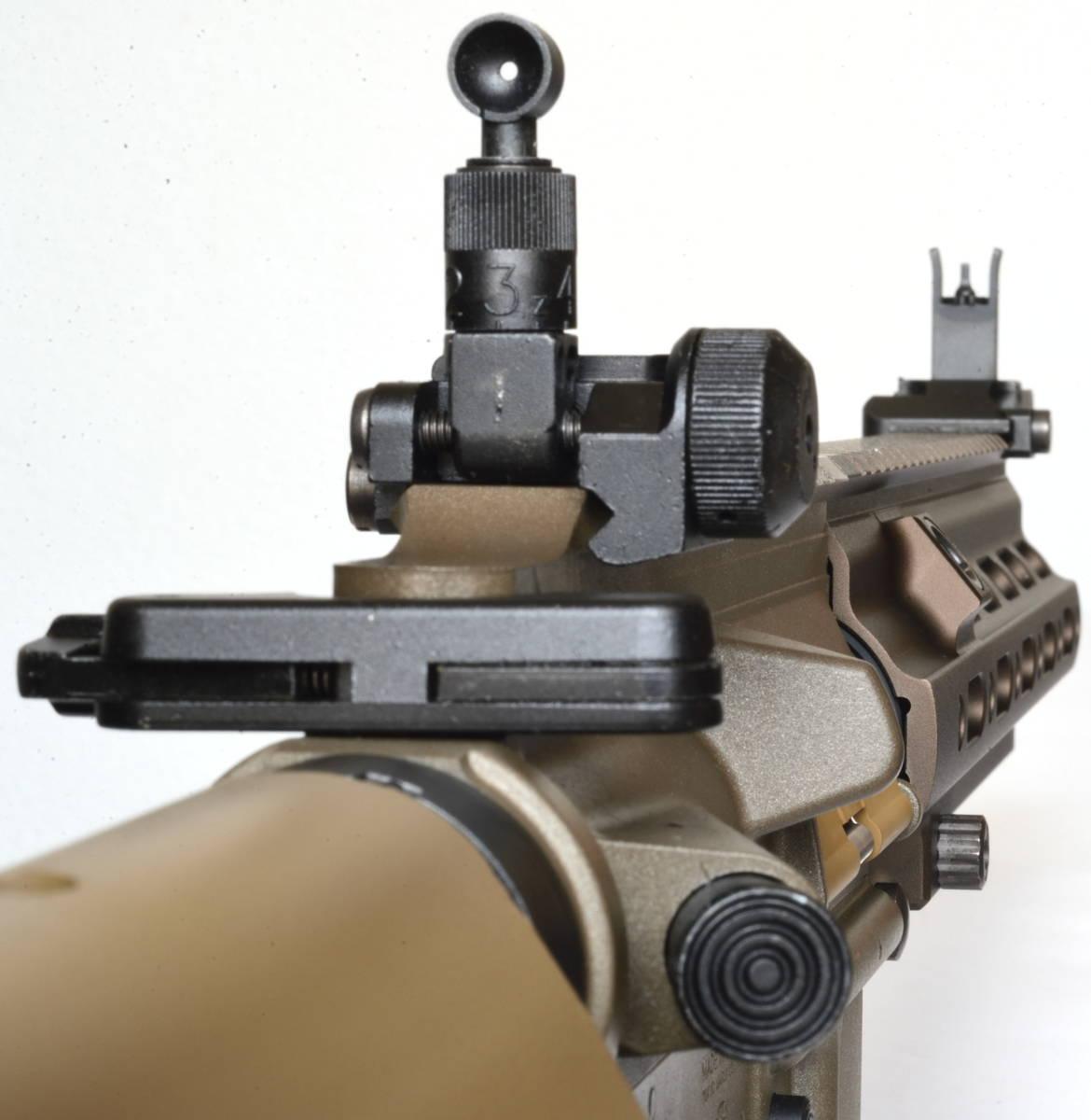 東京マルイ 次世代電動ガン HK416 デルタカスタム 一式 純正バッテリー マルフェスで配られたカタログ SBD付_画像10