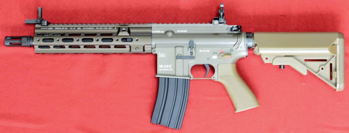 東京マルイ 次世代電動ガン HK416 デルタカスタム 一式 純正バッテリー マルフェスで配られたカタログ SBD付_画像2