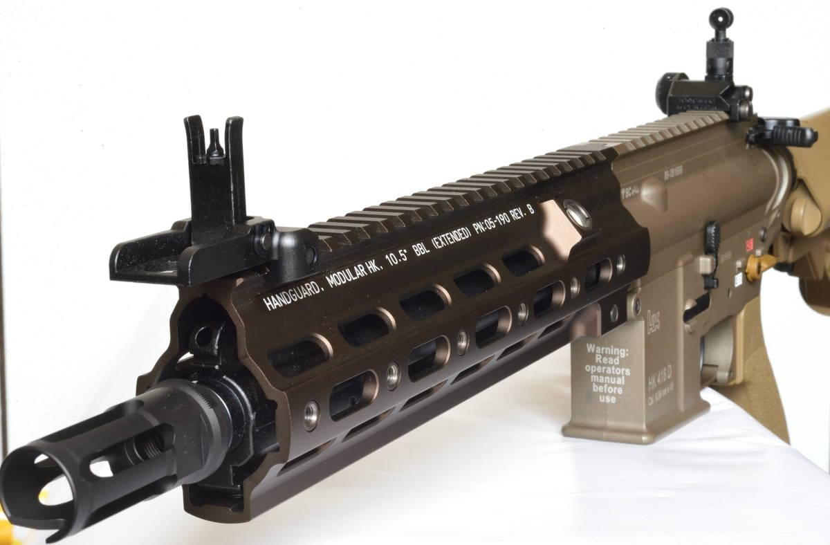 東京マルイ 次世代電動ガン HK416 デルタカスタム 一式 純正バッテリー マルフェスで配られたカタログ SBD付_画像8