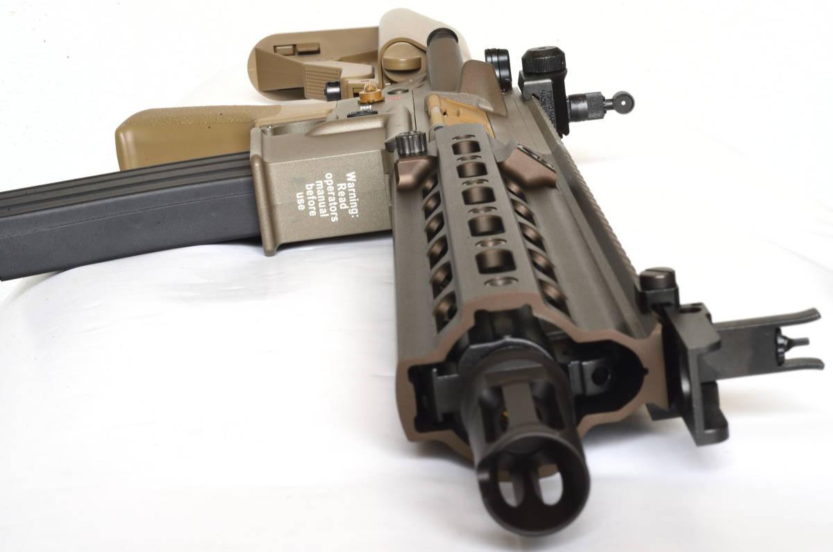 東京マルイ 次世代電動ガン HK416 デルタカスタム 一式 純正バッテリー マルフェスで配られたカタログ SBD付_画像4
