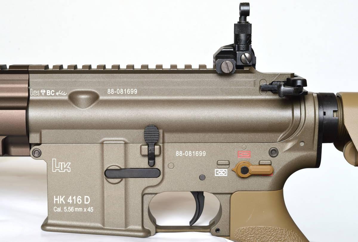 東京マルイ 次世代電動ガン HK416 デルタカスタム 一式 純正バッテリー マルフェスで配られたカタログ SBD付_画像7