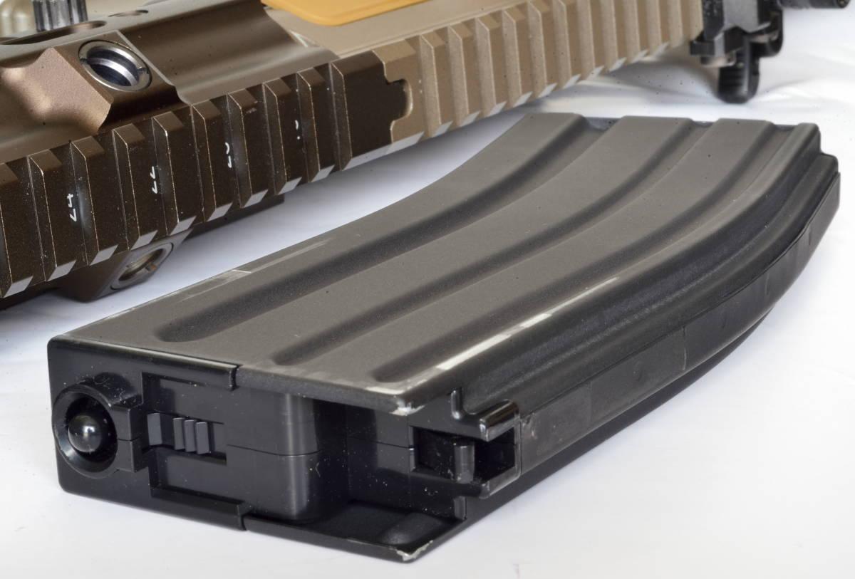 東京マルイ 次世代電動ガン HK416 デルタカスタム 一式 純正バッテリー マルフェスで配られたカタログ SBD付_画像9
