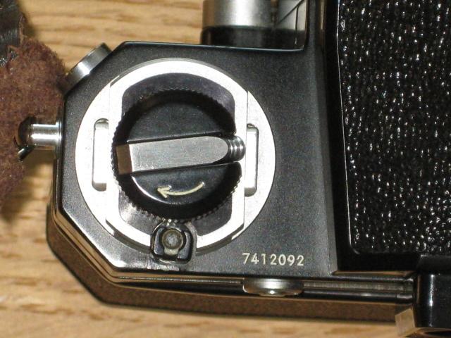 ニコンNewFブラック美品+AF NIKKOR35mm付き難あり NIKON F BLACK_画像4