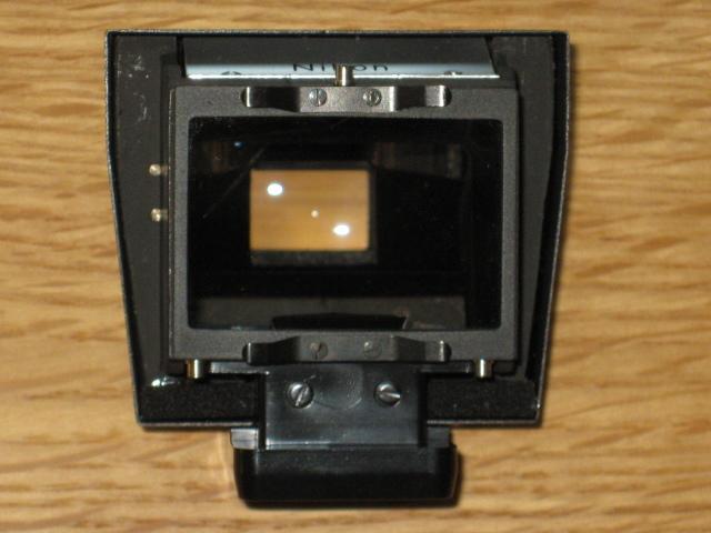 ニコンNewFブラック美品+AF NIKKOR35mm付き難あり NIKON F BLACK_画像7