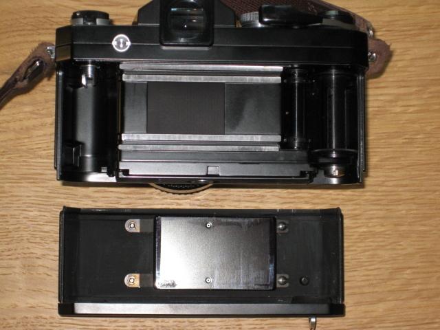 ニコンNewFブラック美品+AF NIKKOR35mm付き難あり NIKON F BLACK_画像10