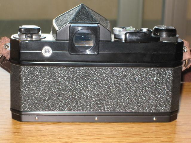 ニコンNewFブラック美品+AF NIKKOR35mm付き難あり NIKON F BLACK_画像2
