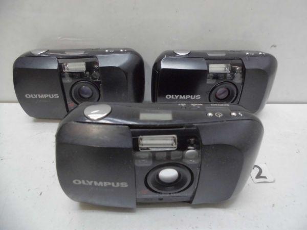 FC77EA OLYMPUS μ [MJU:] フィルムカメラ まとめて ジャンク 消費税0円