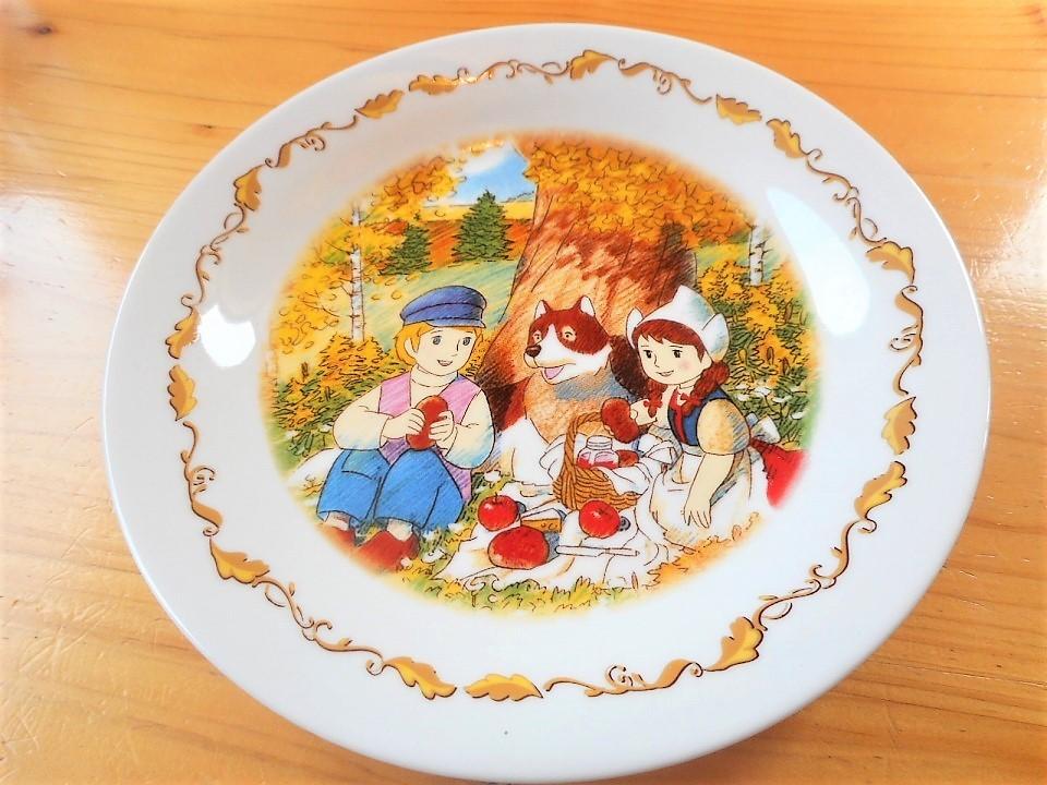 ♪☆【非売品/新品】☆世界名作劇場 フランダースの犬 プレート 皿 絵皿 B0045_画像1
