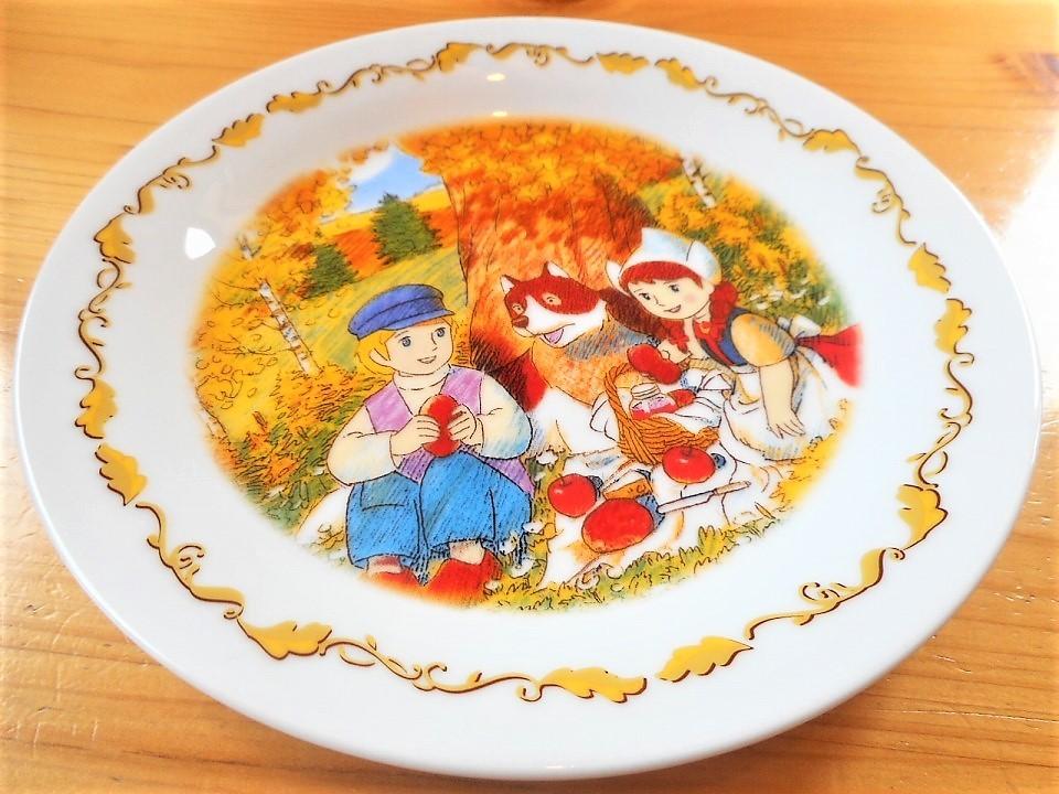 ♪☆【非売品/新品】☆世界名作劇場 フランダースの犬 プレート 皿 絵皿 B0045_画像6