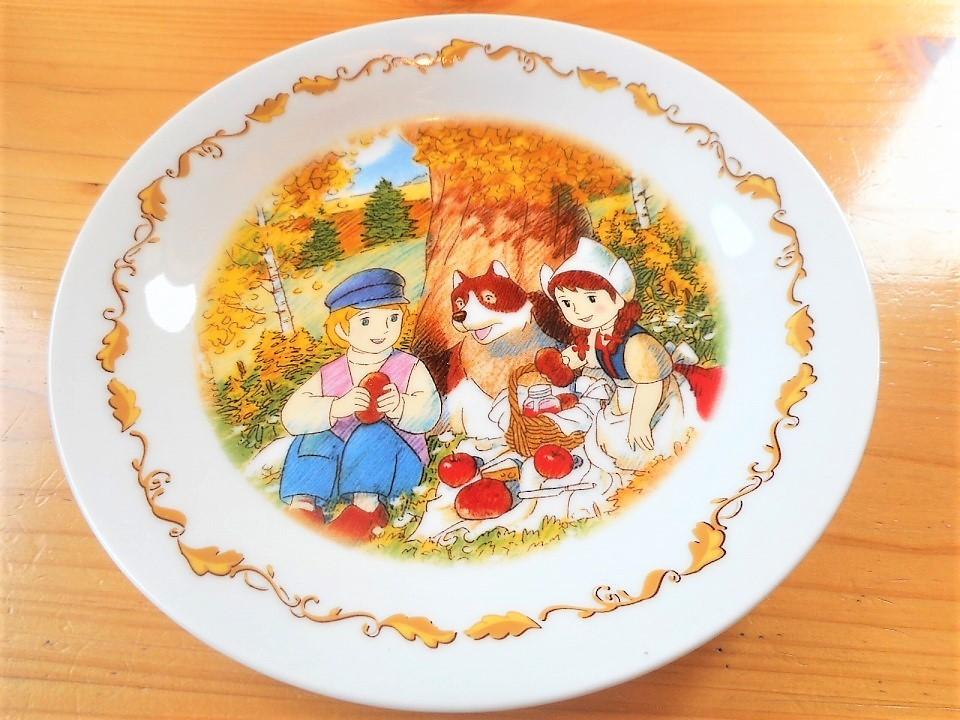 ♪☆【非売品/新品】☆世界名作劇場 フランダースの犬 プレート 皿 絵皿 B0046_画像1