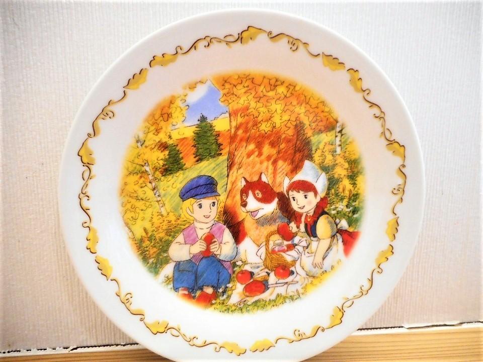 ♪☆【非売品/新品】☆世界名作劇場 フランダースの犬 プレート 皿 絵皿 B0046_画像2