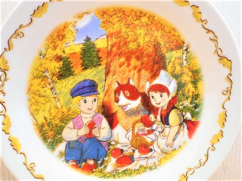 ♪☆【非売品/新品】☆世界名作劇場 フランダースの犬 プレート 皿 絵皿 B0046_画像3