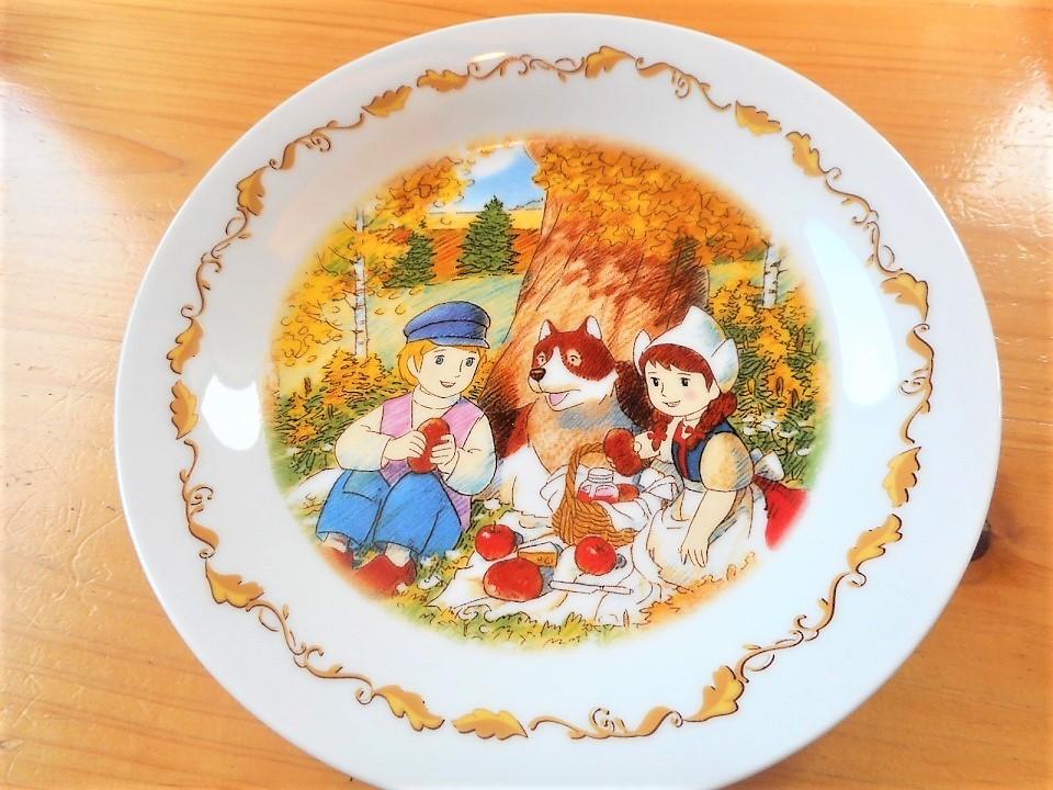 ♪☆【非売品/新品】☆世界名作劇場 フランダースの犬 プレート 皿 絵皿 B0046_画像6