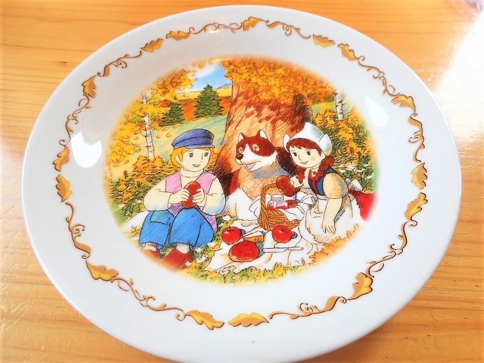♪☆【非売品/新品】☆世界名作劇場 フランダースの犬 プレート 皿 絵皿 B0046_画像7