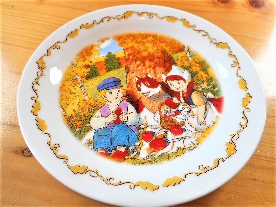 ♪☆【非売品/新品】☆世界名作劇場 フランダースの犬 プレート 皿 絵皿 B0047_画像6
