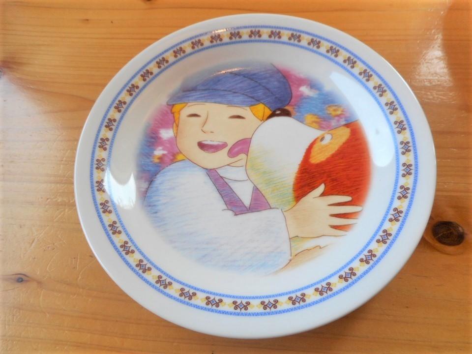 ♪☆【非売品/新品】☆世界名作劇場 フランダースの犬 プレート 皿 絵皿 B0048_画像2