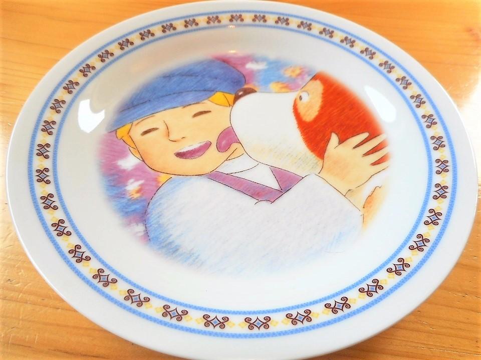 ♪☆【非売品/新品】☆世界名作劇場 フランダースの犬 プレート 皿 絵皿 B0048_画像3