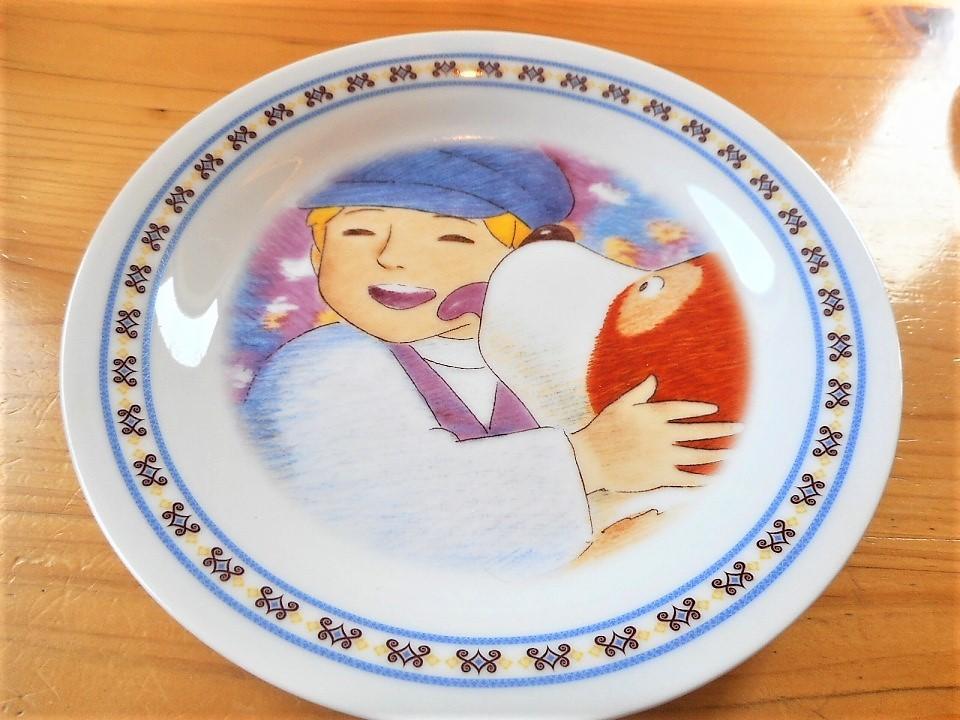 ♪☆【非売品/新品】☆世界名作劇場 フランダースの犬 プレート 皿 絵皿 B0048_画像4