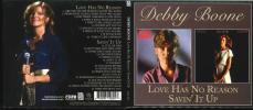 AOR / CCM ★ Debby Boone / Love Has No Reason + Savin' It Up