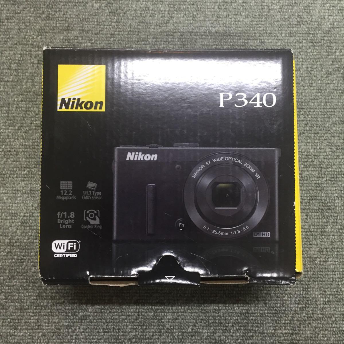 X95 NIKON デジタルカメラ COOLPIX P340