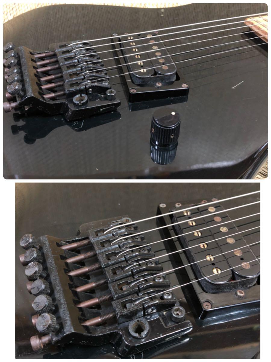 1661 レア!IBANEZ PL5510 1ハム仕様 1986年製 MADE IN JAPAN 日本製_画像7