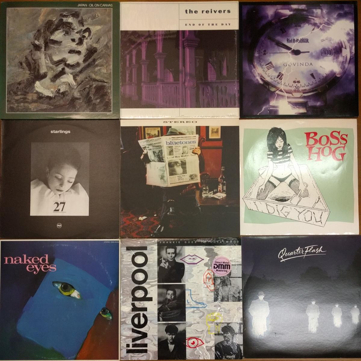 1980~1990年代中心 洋楽レコード 大量 まとめて35枚 オルタナ/ブリット/ネオアコ/エレクトロ/ガレージ/パンク/パワポ等_画像2