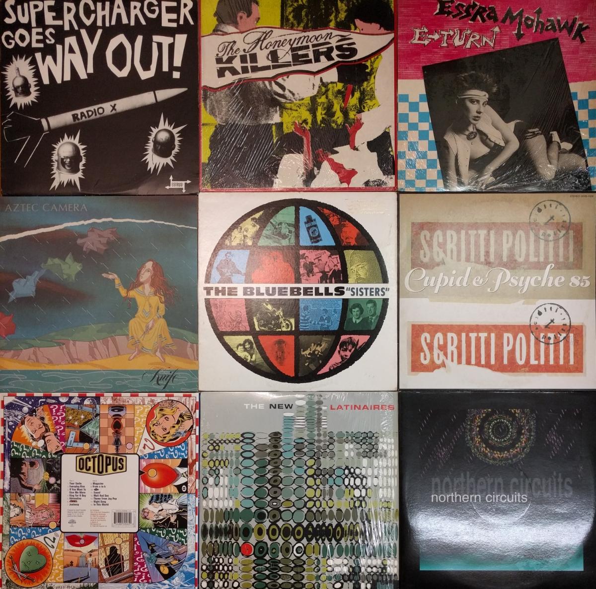 1980~1990年代中心 洋楽レコード 大量 まとめて35枚 オルタナ/ブリット/ネオアコ/エレクトロ/ガレージ/パンク/パワポ等