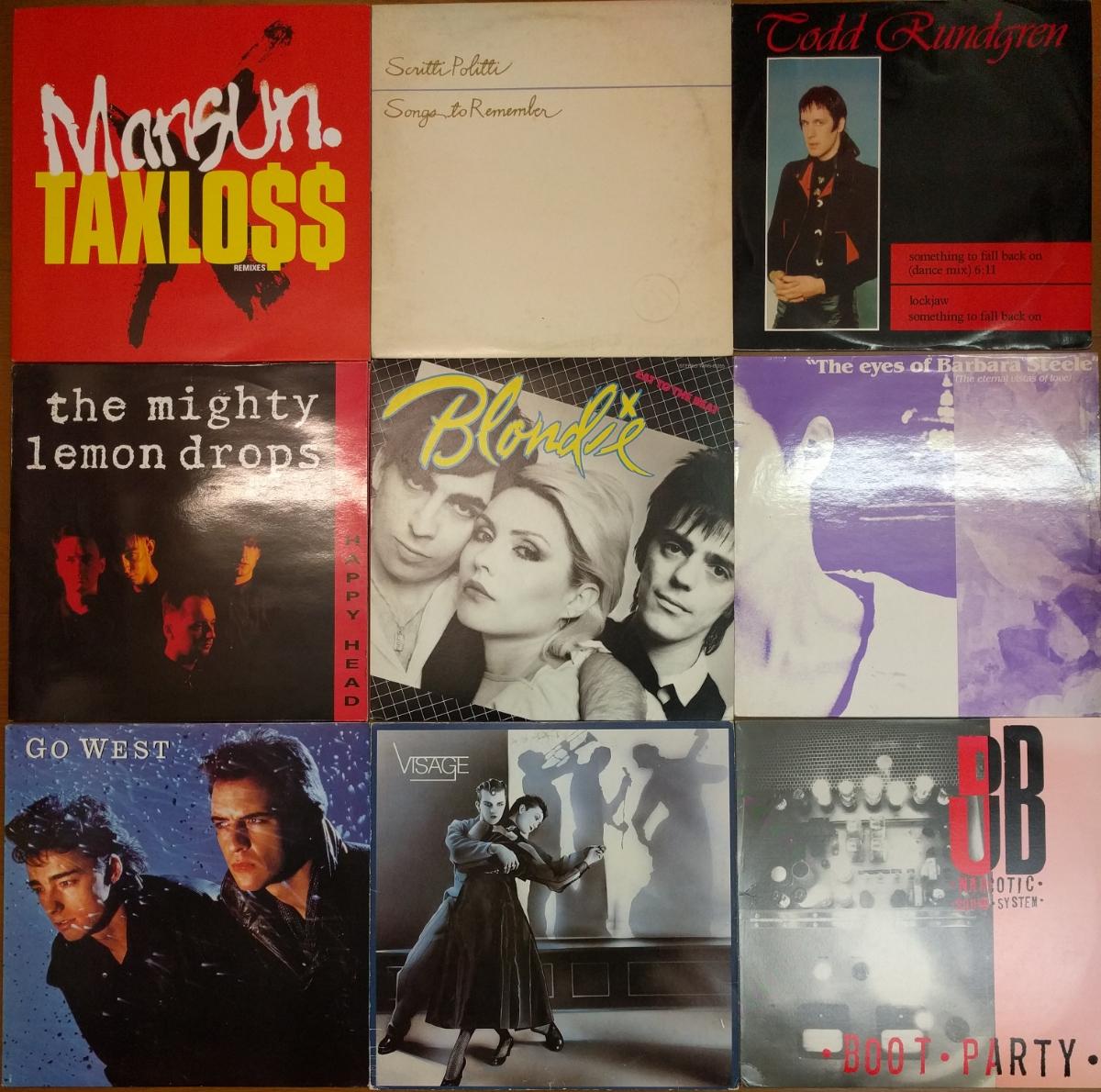 1980~1990年代中心 洋楽レコード 大量 まとめて35枚 オルタナ/ブリット/ネオアコ/エレクトロ/ガレージ/パンク/パワポ等_画像3