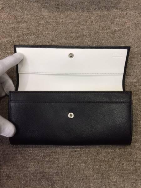 新品未使用!格安!FURLA フルラ バイカラー レザー 二つ折り長財布_画像2