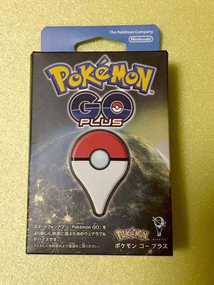 送料無料美品 ほぼ新品Pokemon GO Plus ポケモンゴープラス Pokmon GO Plus