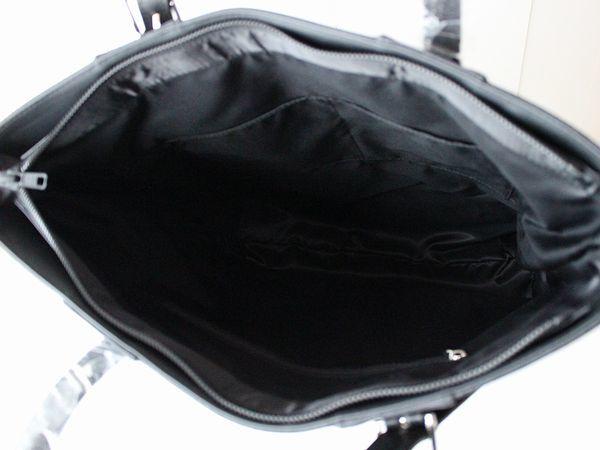 新品タケオキクチTAKEO KIKUCHI持ち手 牛革レザー シャークスキン トートバッグ ビジネスバッグ メンズ_画像3