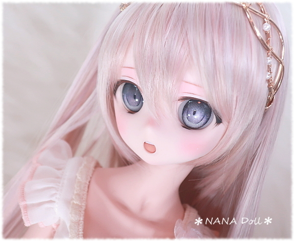 DDH-01(セミホワイト肌)カスタムヘッド*NANADOLL*