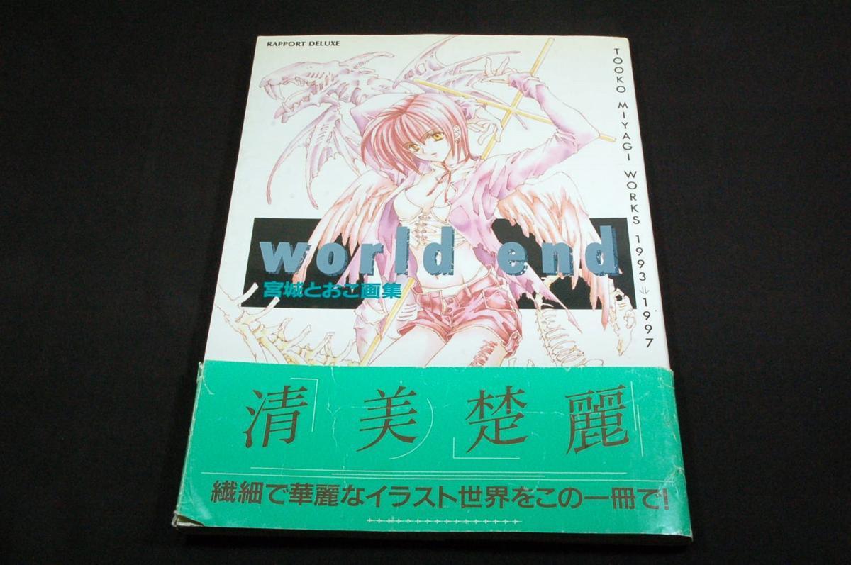 world end JAPAN Tooko Miyagi Art Book