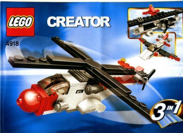 LEGO 4918 レゴブロッククリエイター_画像1