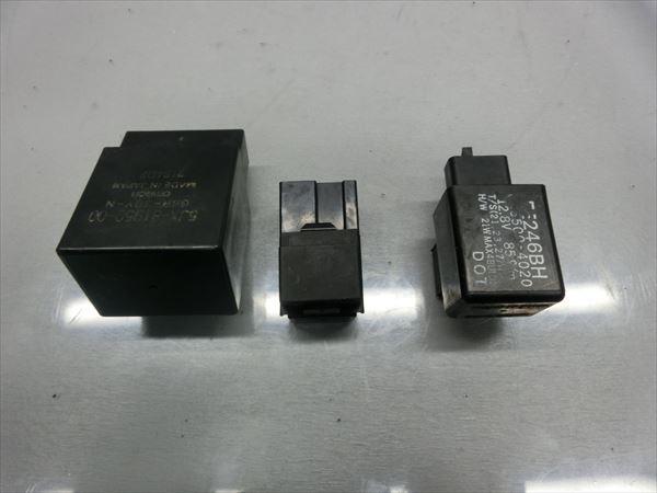J1-0427 ヤマハ ドラッグスター250 XVS250 VG02J 2004年モデル 動画有 実動 ウインカー リレー 【53】_画像3