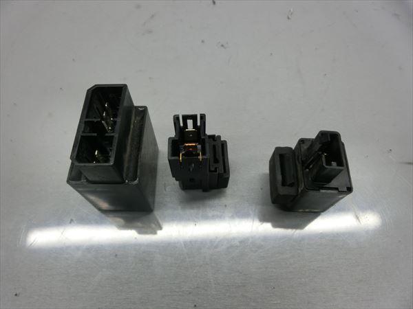 J1-0427 ヤマハ ドラッグスター250 XVS250 VG02J 2004年モデル 動画有 実動 ウインカー リレー 【53】_画像1
