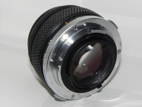 OLYMPUS OM-SYSTEM G.ZUIKO AUTO-s 50mm/f1.4レンズ(中古品)_画像3