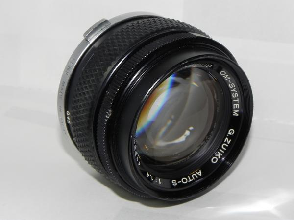 OLYMPUS OM-SYSTEM G.ZUIKO AUTO-s 50mm/f1.4レンズ(中古品)_画像2