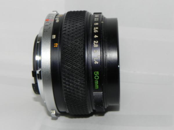 OLYMPUS OM-SYSTEM G.ZUIKO AUTO-s 50mm/f1.4レンズ(中古品)_画像1