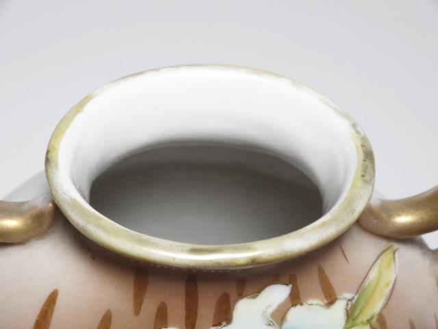 NORITAKE ノリタケ 花瓶 M-NIPPON印 1910年-1921年頃 中古 N193_画像7