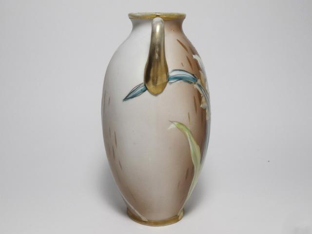 NORITAKE ノリタケ 花瓶 M-NIPPON印 1910年-1921年頃 中古 N193_画像4