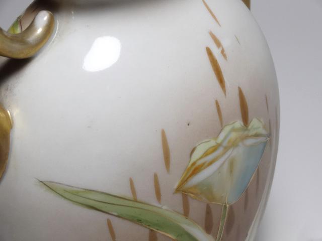 NORITAKE ノリタケ 花瓶 M-NIPPON印 1910年-1921年頃 中古 N193_画像8