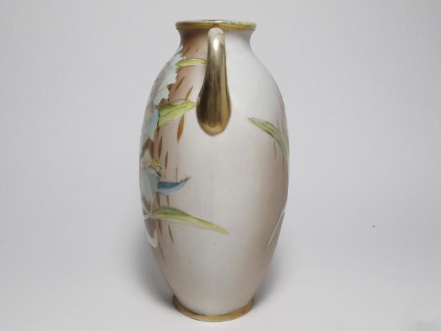 NORITAKE ノリタケ 花瓶 M-NIPPON印 1910年-1921年頃 中古 N193_画像2