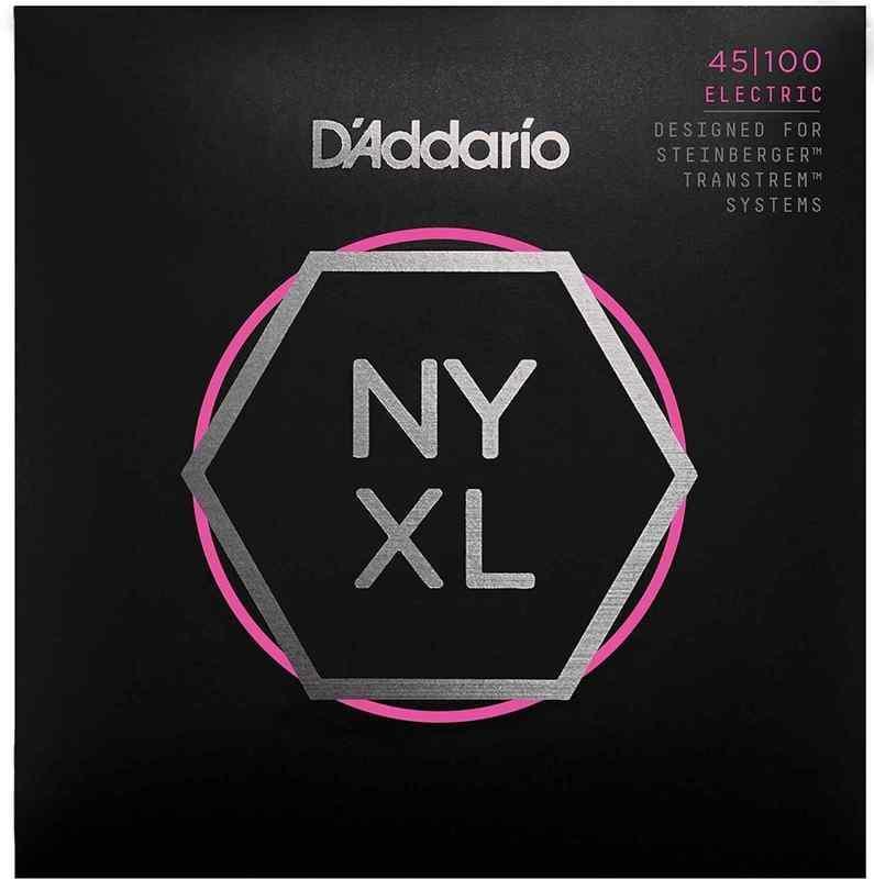 「D'Addario NYXLS45100 Steinberger用 ダブル・ボールエンド ロングスケール ベース弦/メール便 (エレキベース 弦)」の画像