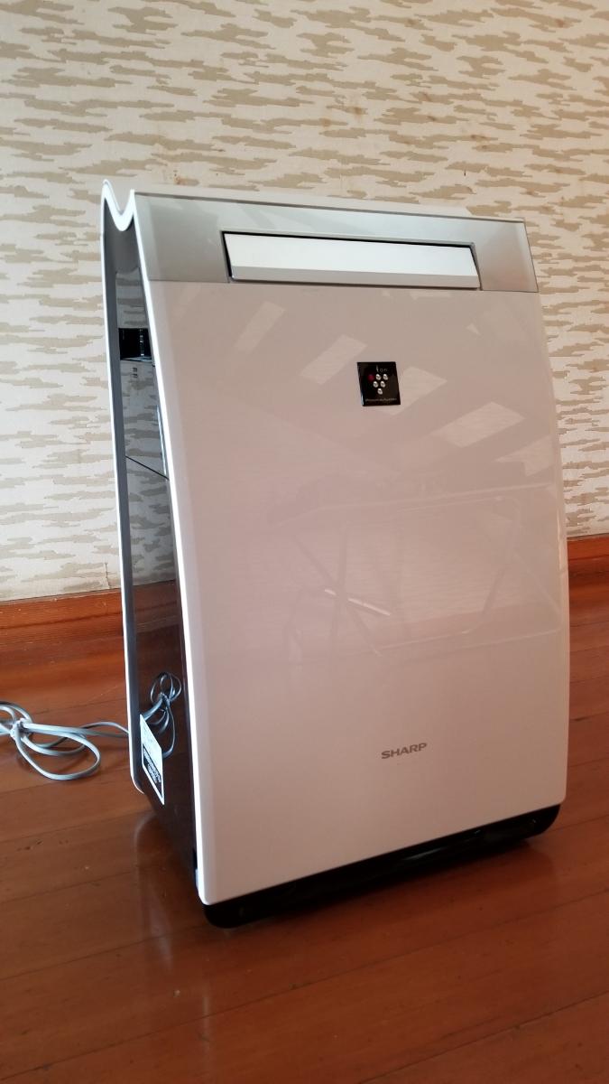 展示品 シャープ 加湿空気清浄機 高濃度プラズマクラスター25000 KI-GX75