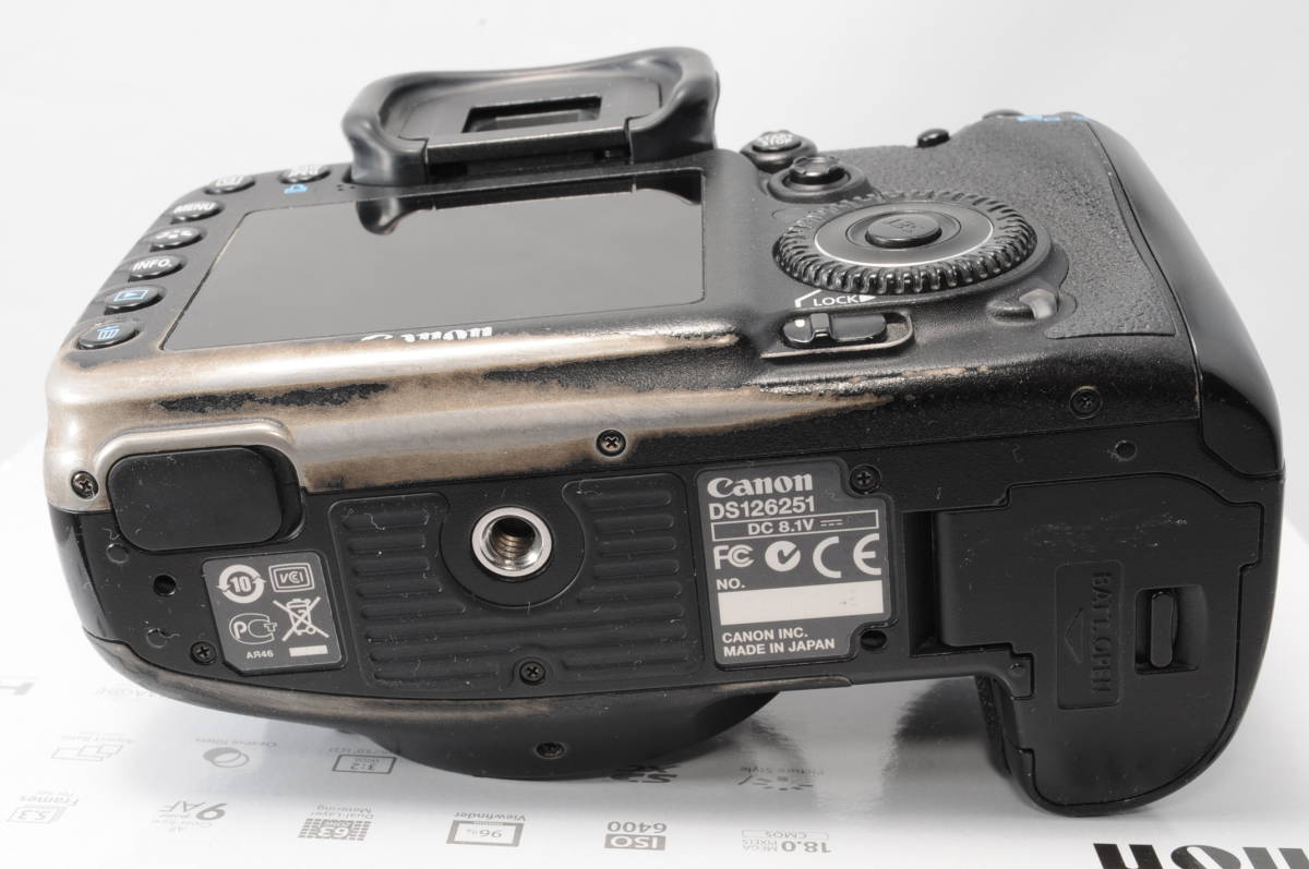 Canon キヤノン EOS 7D ボデイ_画像4